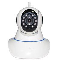 Wholesale Wireless IP HD P Camera P2P Two way radio mm lens IR distance m With PTZ