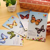 Wholesale 30 bag New Cute kawaii paper butterfly stickers Sticky Paper for Home Decoration Scrapbooking