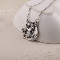 accessories teens - Movie Jewelry Sliver Necklaces Pendants Planted Women S Accessories Teen Wolf Necklace Allison Argent Gifts For Girls