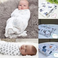 Wholesale aden anais baby swaddle muslin blanket baby swaddle wrap blanket towelling baby spring summer baby infant blanket cm KKA434