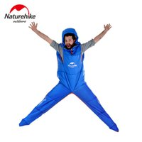 backpacking brands - Naturehike Brand Huamnoid Sleeping Bag Two Specificaitons Four Seasons Adult Sleeping Bags New Product For Camping Travel