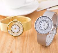 ball wrist watch - New Arrival Women men wristwatches ball bearing quicksand Metal mesh belt Wrist Watch for women Geneva leather watch CC235