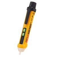 Wholesale PEAKMETER PM8908C Non Contact AC Voltage Detector Tester Meter V V Pen Style Voltage Detector Sound and Light Alarmed