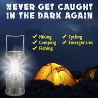 Wholesale Brightest LED Lantern Camping Lantern Collapsible Lantern for Hiking Emergencies Hurricanes Outages Storms Multi Purpose
