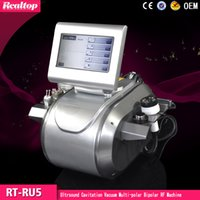 Wholesale Distributors Wanted Vela Shape Ultrasonic Cavitation Vacuum RF Cavitation Massage Roller Slimming Beauty Machine