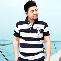 big brother men - Fat Brother Big Fat cotton loose add fertilizer increased male Paul short sleeve shirt collar size M