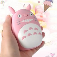 Wholesale SA09 Cute mAh Portable TOTORO Power Bank External Battery Charger Backup Universal For iPhone Plus Samsung Mobile Phones Tablets