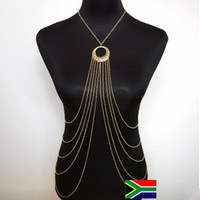 africa highlights - M166 South Africa Hot Golden Body Chain Clifton Beach Necklaces for women Fashion Super Cool lady body chains AAAAA Highlights body chains