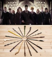 Wholesale 18 Styles Cosplay Harry Potter magic wand Dumbledore magical wand wizarding world of harry potter Hogwarts Magic with a Gift Box B1040
