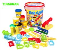 baby toy mold - DIY Colorful Playdough Mold Set Play Doh Mouldings Tools plasticine dough Baby Learning Education Creativity kits Classic toys
