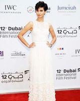 apple flower festival - 2016 Celebrity Dresses Jewel Sheer Neck Sleeveless Beaded D Floral Appliques th Annual Dubai International Film Festival Evening Gowns