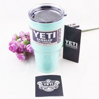 beer bottle tray - Hot sell Bilayer Big Capacity Stainless Steel Tumblerful Insulation Cup OZ OZ OZ YETI Cups Cars Beer Mug Water Bottle