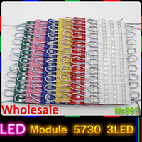 led signs - LED Injection Module light lamp SMD waterproof LED modules for sign letters LED back light SMD5730 led DC12v