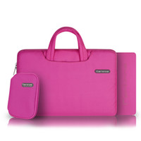 Wholesale Cartinoe Soft Laptop Bag Cover For different size Apple MacBook Pro Air for inch