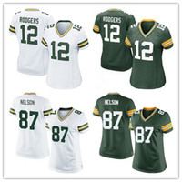 aaron rodgers women jersey white - Discount Price Women Elite Packers jerseys cheap football jerseys Green Bay Aaron Rodgers Jordy Nelson Clay Matthews green white