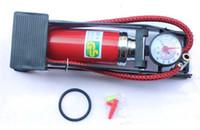 air barrel pump - SINGLE BARREL CYLINDER AIR INFLATOR FOOT PUMP car bicycle high pressure pipe pump