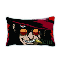 animated dreams - Newest Special Pattern Throw Pillow Cover Pillowcase Pipe Woman Man Alucard Animated Hope Dreaming Design Decorative Home Arts