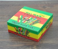 Wholesale 60 booklets BOB MARlEY Papers filter tips colorful Paper FilterTips herb Cigarette rolling papers