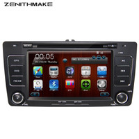 atv dvd - din CAR DVD player radio for Skoda Octavia A5 with wifi CANBUS Bluetooth ATV wince free map swc