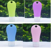 Wholesale 50 X Silicone Squeeze Travel Bottle Ml Leak Proof Travel Bottles Silicone Travel Tube