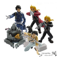 alchemist movie - Anime Fullmetal Alchemist PVC Action Figure Toys set