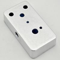 aluminum guitar case - NEW B Style Aluminum Metal Stomp Box Case Enclosure Guitar Effect Pedal Hole
