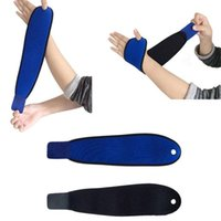 Wholesale Wrist Guard Band Brace Support Carpal Tunnel RSI Pain Wraps Bandage Black F00050 SPD