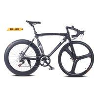 Wholesale Road Bike Aluminum Alloy Muscle Frame Drop SHIMANO Shift Kit Double Disc Brake cc