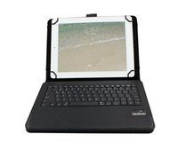 Wholesale 11 inch Wireless PU Leather cover Universial bluetooth keyboard with case for for iOS androids windows system for quot quot tablet