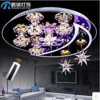 bedroom color ideas - Contemporary And Contracted Romantic Ideas Sweet Bedroom Light Crystal Light Absorb Dome Light Remote Control Color Light