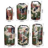 Wholesale 2 L Camouflage Army Dry Bag Sack Camp Sailing Canoe Kayak Waterproof Float