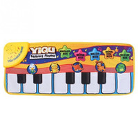 best music keyboard - Latest Design for Newborn Baby Music Mat Touch Play Keyboard Musical Music Singing Gym Carpet Mat Best Kids Baby Gift