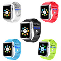 Cheap A1 Smart Watch Bluetooth Smartwatch Apple iWatch Support SIM TF Card Smart Watches for Smartphone with Retail Package Free Shipping