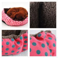 Wholesale Pet Products Cotton Pet Dog Bed for Cats Dogs Small Animals Bed House Pet Beds Cushion High Quality Cheap
