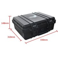 aluminum suitcases - Tool case toolbox suitcase Impact resistant sealed waterproof protective case mm Instrument box with pre cut foam JP2
