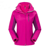Wholesale New womens jackets camping jackets fashion outdoor jackets waterproof jackets hiking jackets size S XXXL