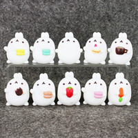 Wholesale Lovely Cute Molang Rabbit action Figure Model Toys Dolls Kids Toys Gifrs cm styles for kids gift