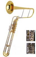 Wholesale Cimbasso Valve Rotary Trigger in Eb F Foambody Case EMS Brass Musical instruments