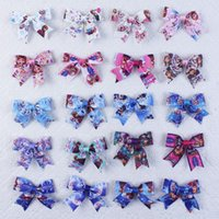 baby lisa - Wholeasle quot baby girls kids Ella Lisa party butterfly flat knot Hair Bows clips Y