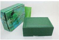 Wholesale Luxury Green With Original Ro Watch Box Papers Card Wallet Boxes Cases Luxury Watches