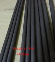 Wholesale 7 mm High Purity Carbon Graphite Rod Bar For Electrodes Smelting Casting Scientific research