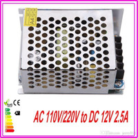 Wholesale 12V DC W Power Supply LED Driver Adapter Transformer Switch For LED Strip LED Light LED display billboard