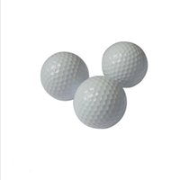 beginners golf set - Factory High Quality Double Layer Material Golf Balls For Elementary beginner Set by Custom Negotiable