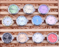 Wholesale Noosa ginger snap button clock watch Chunks Clasps Snap Jewelry DIY Jewelry Accessory Adornment Set Noosa Nosa