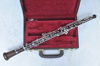 Wholesale Ebony Oboe Auto Design for SHOW with case and mouthpiece Shipping time days Musical instruments
