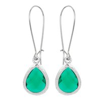 baby earings - 1pcs Stone Earring Long Drop Light green Crystal Earrings for Women Gorgeous Wedding pendientes gold earings for baby