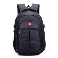 Wholesale New Quality waterproof oxford swissgear Backpack Men inch Laptop bag sac a dos men backpacks swiss sport Travel backpack
