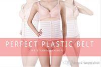 Wholesale 2016 Cummerbun Retail Slimming Vest Body Sculpting Beautiful Figure Curve Charming Thin Waist Tummy Shaper Workout Shapewear