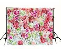 beautiful photography - Happy Birthday Theme Backdrops Beautiful Flowers Bed For Newborn Background Photography Studio Backdrop