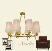 bathroom chandeliers - Luxurious Vintage Morden Metal Chandeliers Lighting LED Lights Bathroom Pendant Ceiling Lights Fixture Lamp for Dining Living Room
